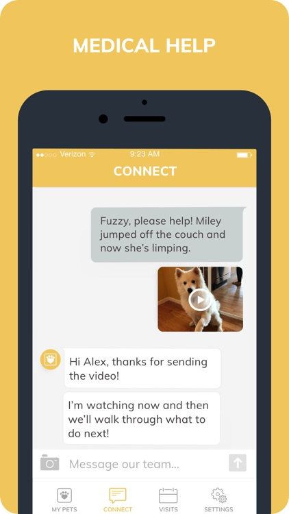 Fuzzy: Vet Care for Dogs, Cats