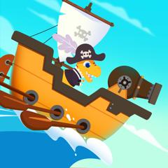Dinosaur Pirates - Kids Games