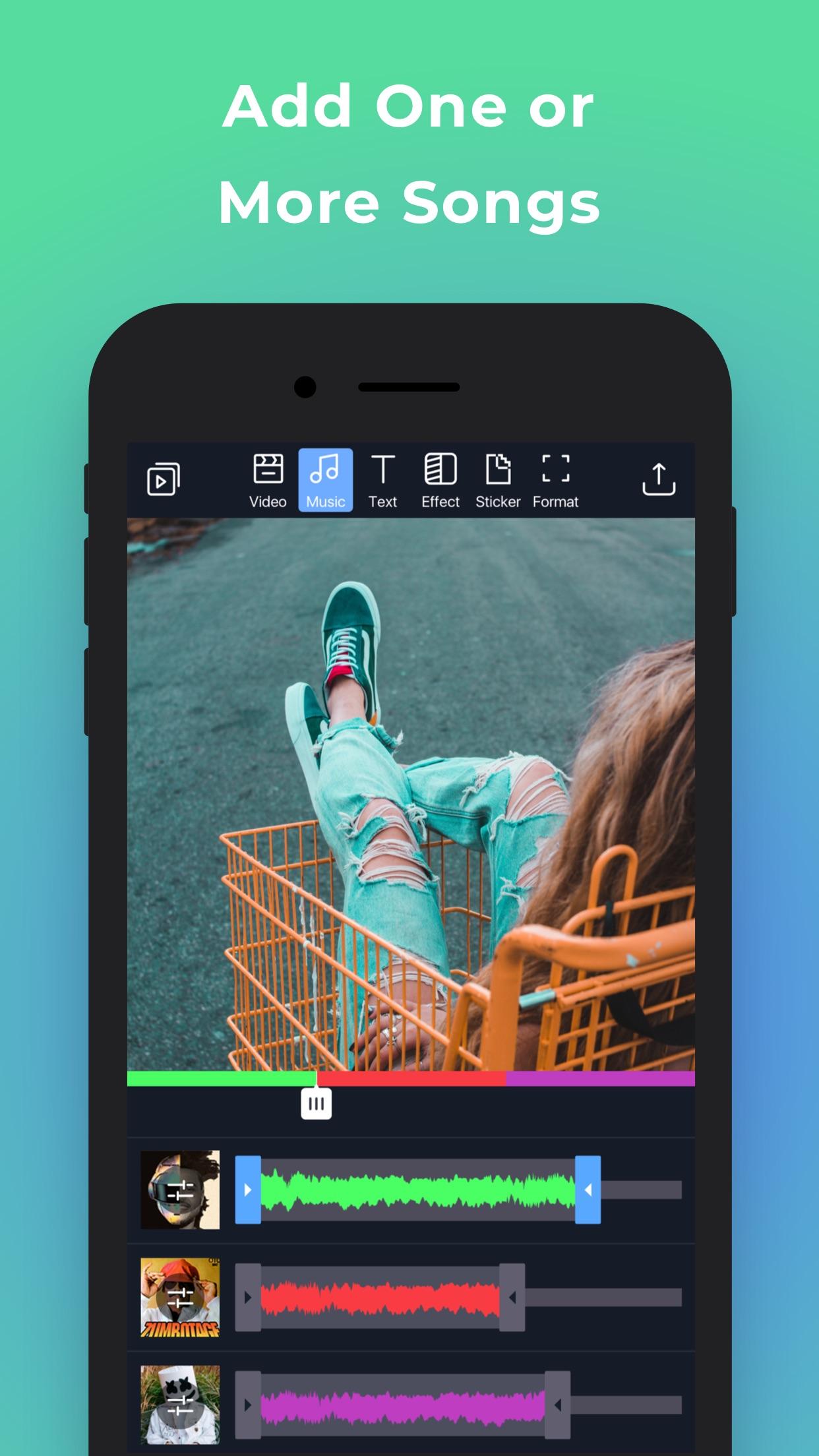 Filmr - Edit Photos & Videos Screenshot