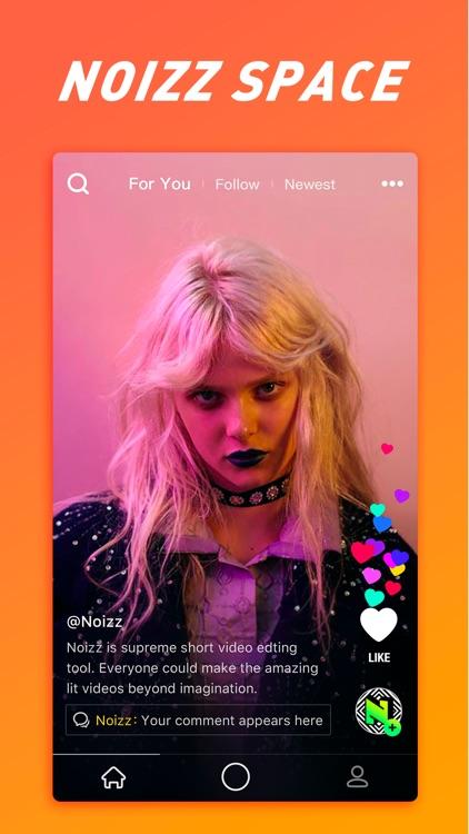 Noizz-Music Cam & Video Editor screenshot-0
