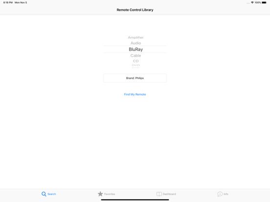 EzRemote Universal Control Screenshots