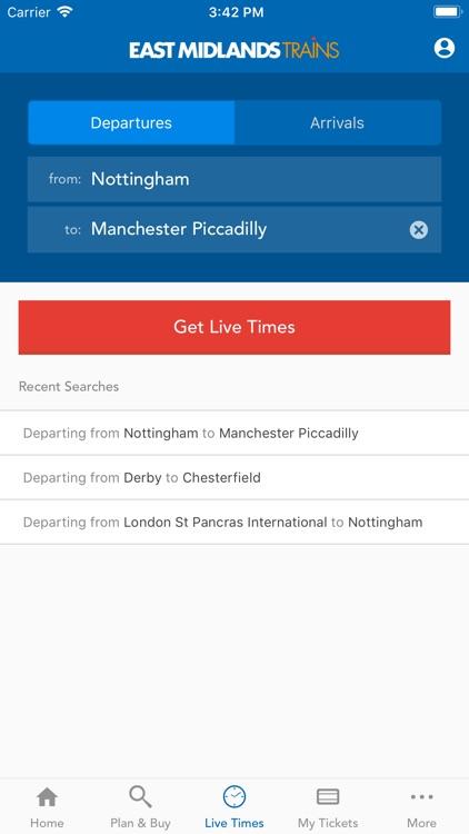 East Midlands Trains Tickets screenshot-3