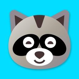 Bear emoji stickers pack