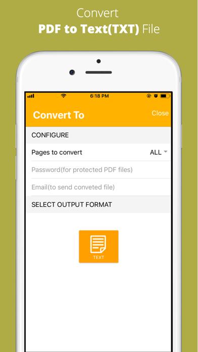 Aadhi PDF to Text Converter screenshot 3