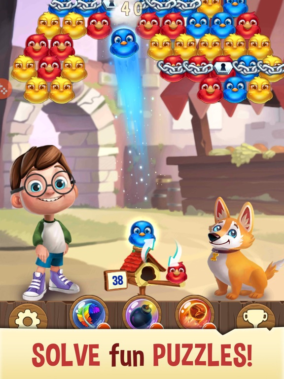 Bubble Birds V - Shooter screenshot 7