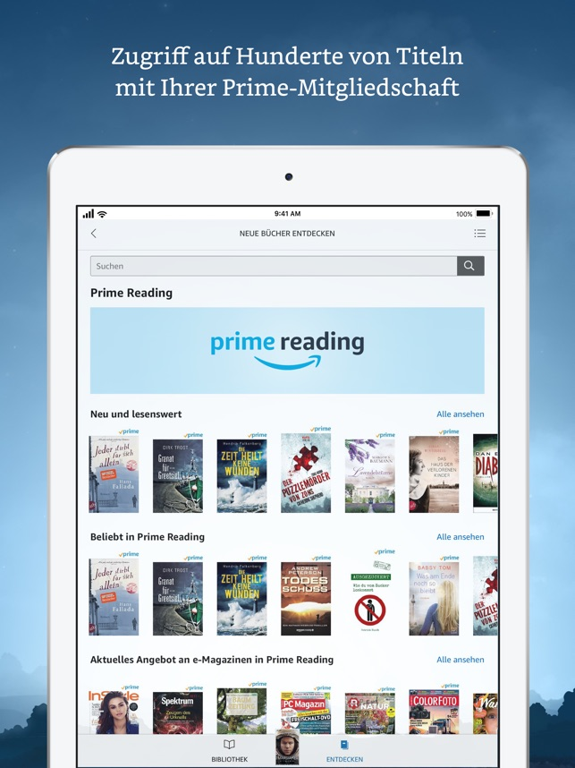 643x0w Amazon Kindle App mit Redesign Apple iOS Google Android Technology
