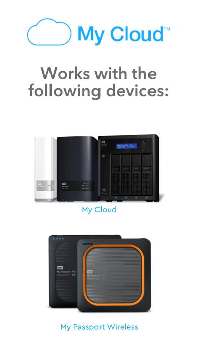 WD My CloudScreenshot von 1