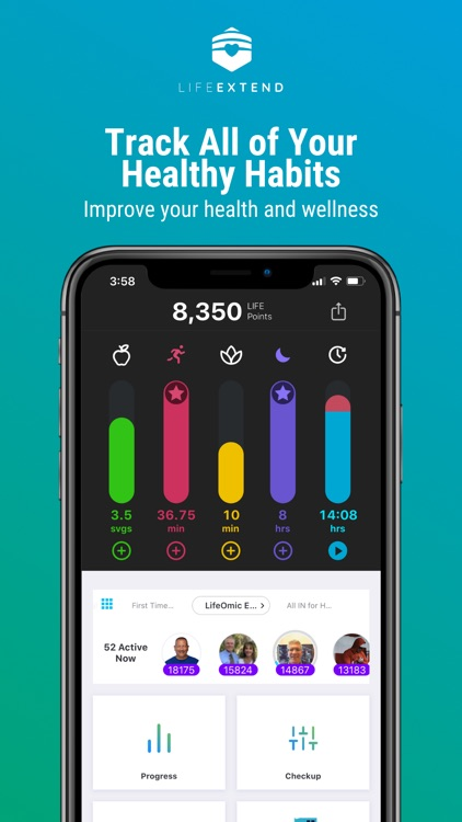 Life Tracker & Healthy Living