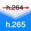 H.265:H.264相互変換 - iPadアプリ