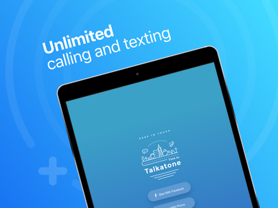 Talkatone - free phone calls and SMS texting app with Google Voice screenshot