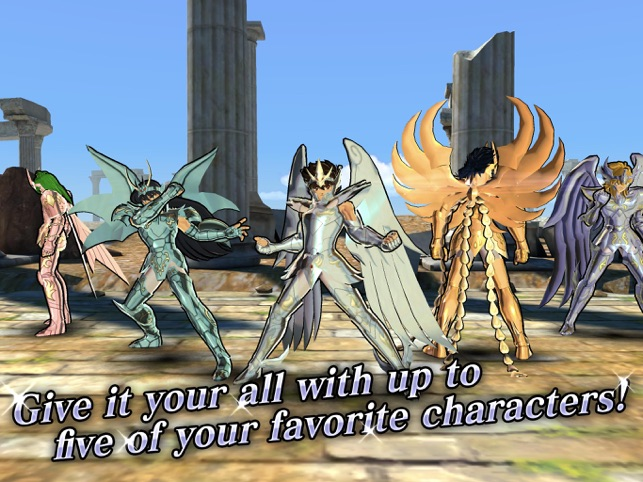 SAINT SEIYA COSMO FANTASY Screenshot