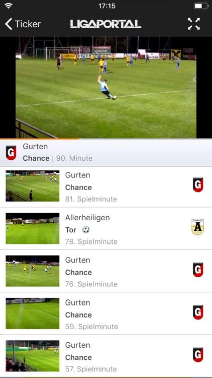 Ligaportal Fussball Live Ticker By Ligaportal