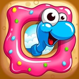 Sugar Worms: Relaxing Match 3!