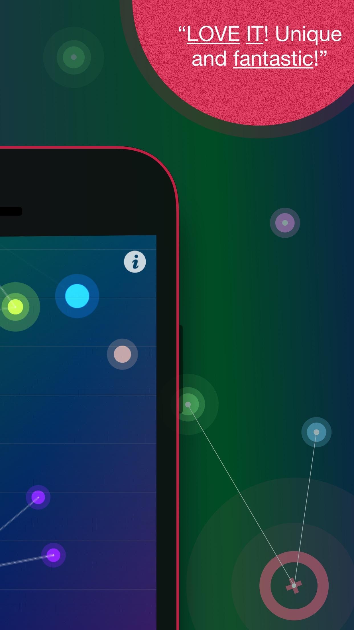 Screenshot do app NodeBeat - Playful Music
