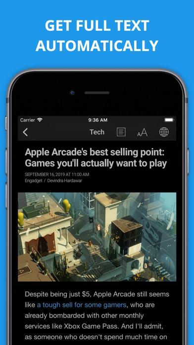 Newsify s'occupe de vos flux Google Reader sur iPhone-capture-3
