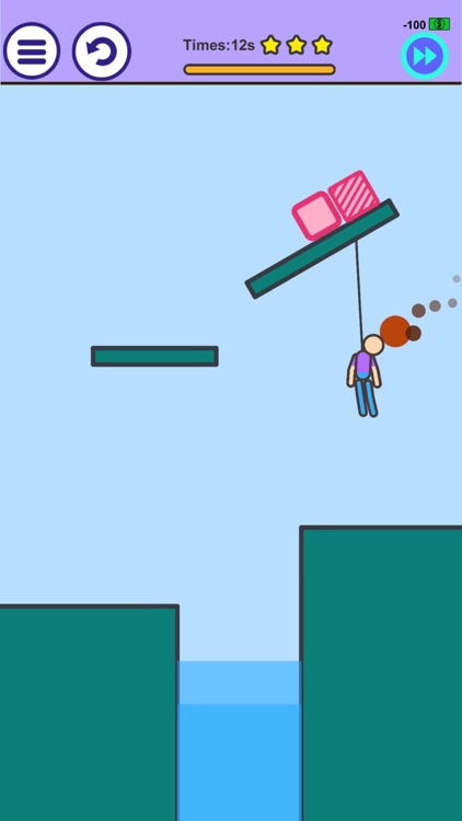Man on Fire - Physics Game
