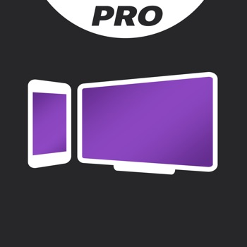 Screen Mirroring+ for Roku Logo