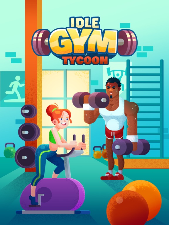 Idle Fitness Gym Tycoon - Game на iPad