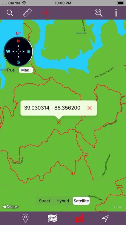 Hoosier National Forest – GPS screenshot-4