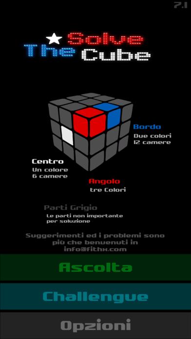 Screenshot of Risolvere il cubo1