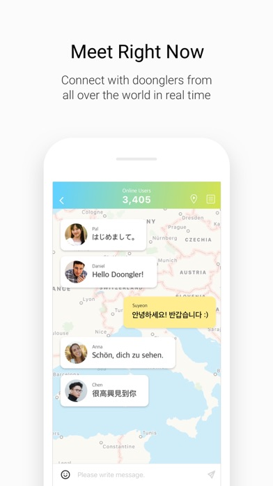 Penpal world app