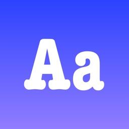 Fonty - install any font