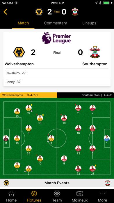 Wolves App screenshot four