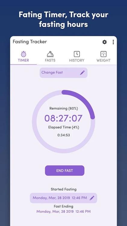 Fasting Tracker - Track fast screenshot-3