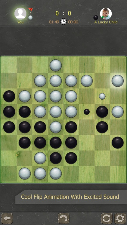 Reversi 2 players screenshot-3