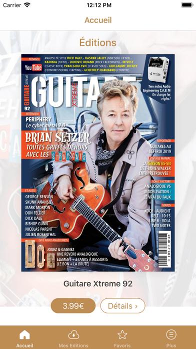 Guitare Xtreme Screenshot
