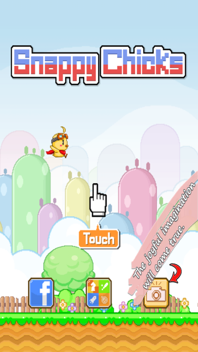 Snappy Chicks : Flappy Friends screenshot two