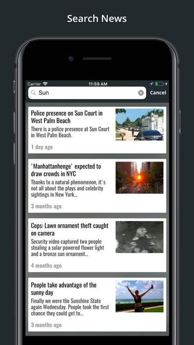 WFLX FOX 29 Screenshot on iOS