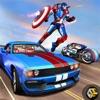 Captain Hero Bike Robot Rescue