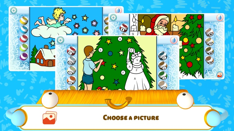 Color by Numbers - Christmas screenshot-0