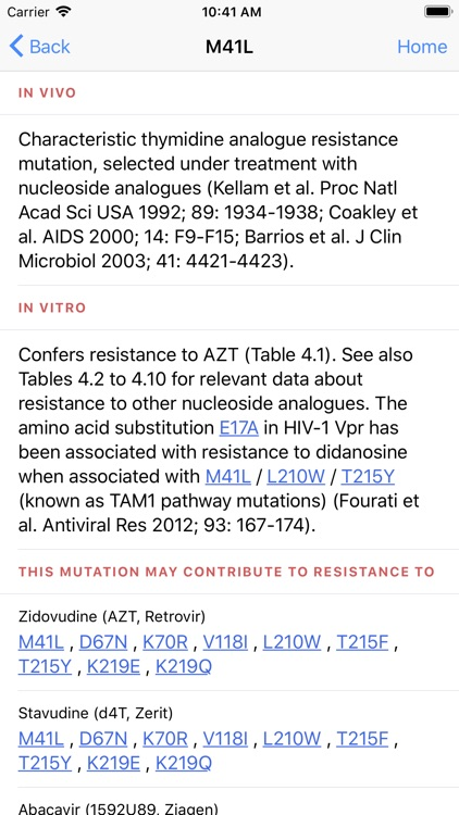 HIV&Hepatitis Drug Guide screenshot-3