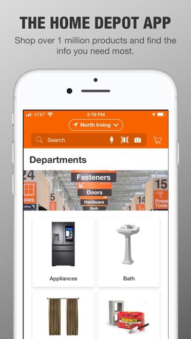 The Home Depot review screenshots