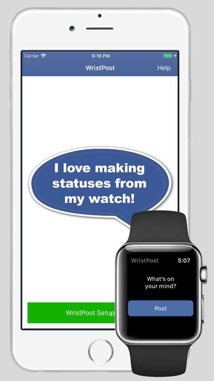 WristPost for Facebook