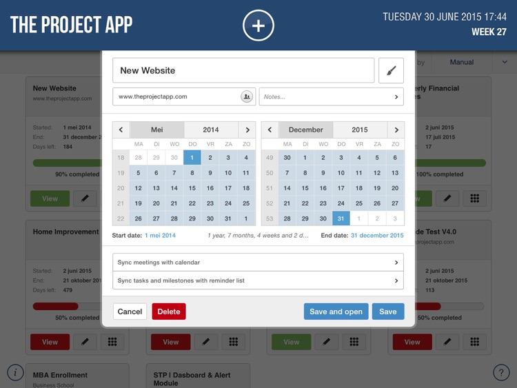 Project App screenshot-4