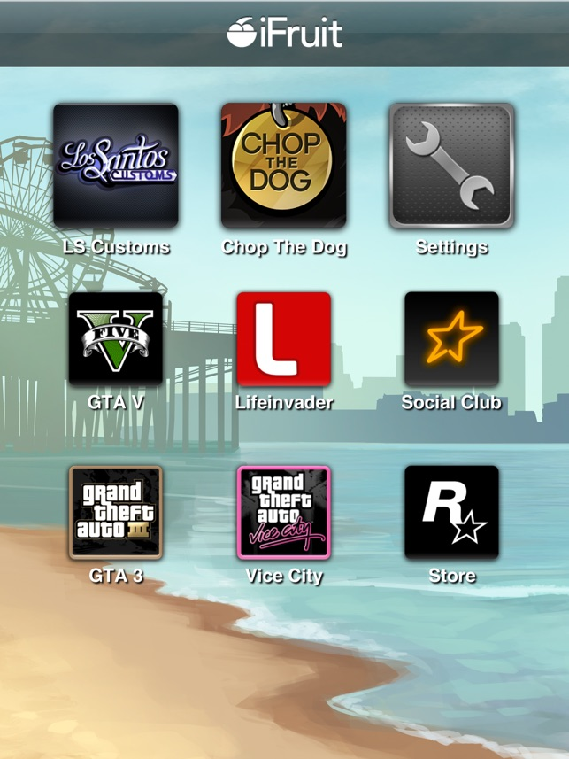 Grand Theft Auto: iFruit on the App Store