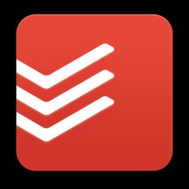 Todoist Logo – Klick führt zur Website des Anbieters