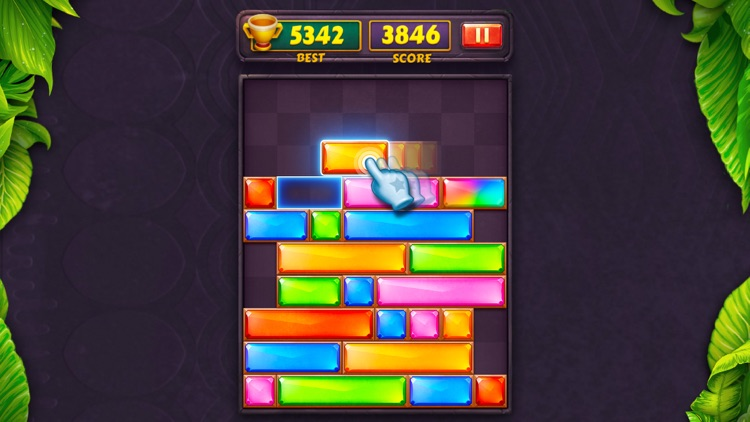 Dropdom™ Puzzle Block Jewel screenshot-4