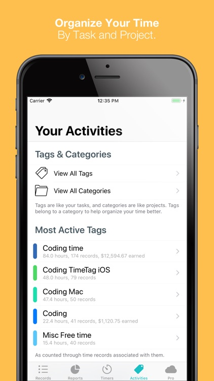 TimeTag - Track Your Time screenshot-4