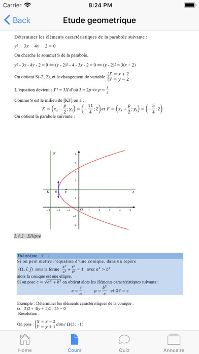 Maths Terminale S screenshot 2