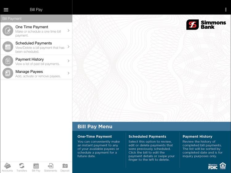 Simmons Bank Anywhere screenshot-4
