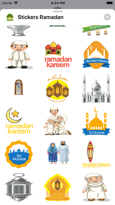 Stickers Ramadan Mubarak Screenshot