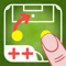 App Icon for Pizarra Táctica: Fútbol++ App in Peru App Store