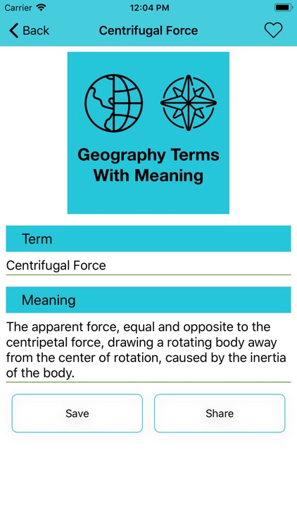 Geography Terms With Meaning screenshot-3