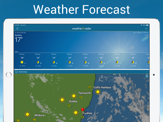 Weather & Radar Pro Screenshots