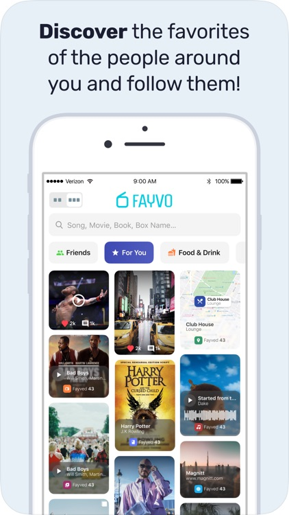 Fayvo: Share Your Favorites