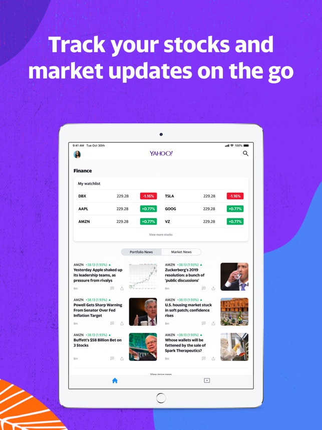 Yahoo - News, Mail, Sports on the App Store